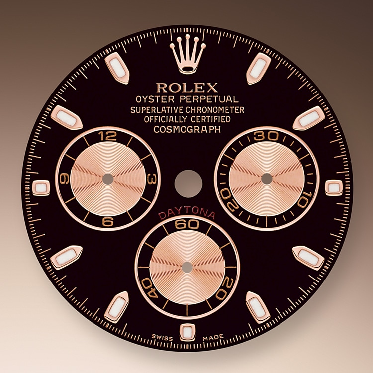 Black and Pink Dial